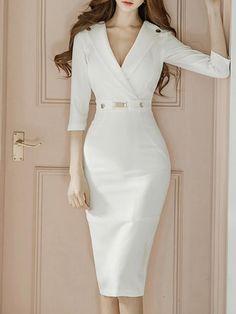 13982e9b2a Latest Hot Products. Tea Length DressesWhite ...
