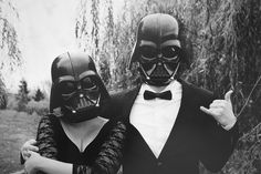 star wars, film, black and white, cute, love, photography