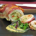 Coco de Mama | italian recipes Chicken Rolls with Pancetta Stuffed with Artichoke and Bell Peppers ...