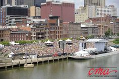 CMA Fest 2012 Chevrolet Riverfront Stage - Want to be here next year? email me judy@letsgotravelin.com
