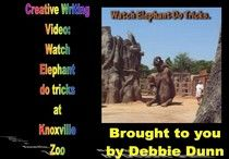 Creative writing video: Watch elephant do tricks at Knoxville Zoo
