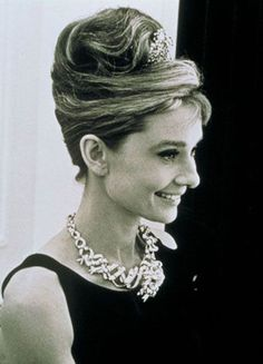 Audrey Hepburn wearing Jean Schlumberger Design