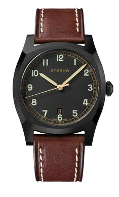 98ebaae5c Eterna - Heritage Military 1939 Military Trends, Fine Watches, Sport  Watches, Beautiful Watches