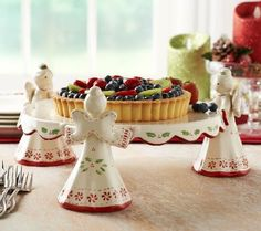 Product image of Temp-tations Figural Angel Cake Plate