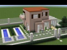 Minecraft House Plans, Minecraft Pe, Minecraft Creations, Minecraft Designs, Minecraft Projects, Minecraft Decorations, Minecraft Construction, City Model, Minecraft Tutorial