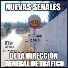 Nuevas señales de tráfico