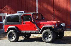 AEV Jeeps or Jeeps that predominantly use AEV components for SALE Yellow Jeep Wrangler, Jeep Wrangler Tj, Jeep Wrangler Unlimited, Aev Jeep, Jeep Tj, American Expedition Vehicles, Rubicon, Land Rovers, Defenders