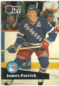 NHL Pro Set 1991 Hockey Trading Card #164 James Patrick #3 New York Rangers Listing in the Non-Graded,1990-1999,Singles,NHL,Hockey,Sports Cards & Stickers,Sport Memorabilia & Cards Category on eBid Canada   $0.50