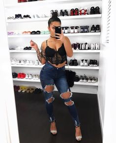 Pinterest: FOLLOW ME: XXLaTykka SnapChat: Xa_ja Twitter: x__aja Instagram: aja Basic Outfits, Trendy Outfits, Summer Outfits, Cute Outfits, Fashion Outfits, Womens Fashion, Outfit Goals, My Outfit, I Love Fashion