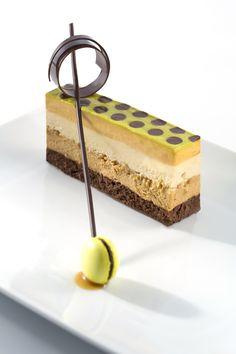Chef Chocolatier Maura Metheny Peanut and Caramel Crunch dessert