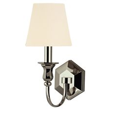 Hudson Valley Lighting 1411-PN-WS Charlotte Wall Sconce