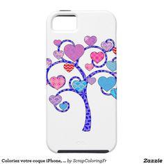 Coloriez votre coque iPhone, iPad, Samsung Galaxy! iPhone 5 Case