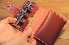 【※受注生産】Kozeniire/Tyrian purple|財布・二つ折り財布|HANARE|ハンドメイド通販・販売のCreema