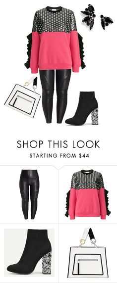 """""""Simple Saturday #Pink"""" by missactive-xtraordinary ❤ liked on Polyvore featuring SPANX, GaÃ«lle Bonheur, Fendi and Joomi Lim"""