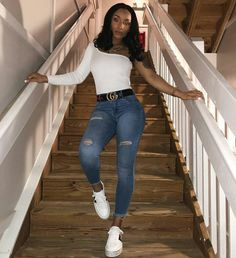 Affordable Women S Fashion Online Key: 8883658116 Cute Fall Outfits, Swag Outfits, Trendy Outfits, Girl Outfits, Fashion Outfits, Womens Fashion, Black Girl Fashion, Cute Fashion, Summer Birthday Outfits