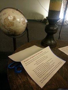 2014 Ash Wednesday | Flickr - Photo Sharing; prayer station...prayers of lament