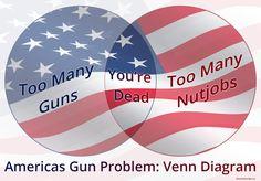 America's Gun Problem: Venn Diagram