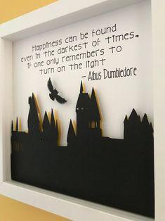 Harry Potter Wall Art, Harry Potter Nursery, Harry Potter Classroom, Harry Potter Gifts, Harry Potter Crafts Diy, Harry Potter Wall Stickers, Hogwarts, Potter School, Art 3d