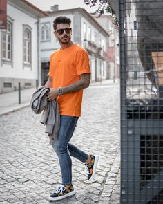 Orange is our color! Eureka Shoes, Fashion Story, Sneakers, Normcore, Hipster, Mens Fashion, Orange, Lifestyle, How To Make