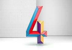 Colorful Numbers by Muokkaa Studio | Inspiration Grid | Design Inspiration
