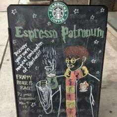 Harry Potter + Coffee = <3