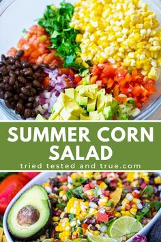 Black Bean and Corn Salad - Tried, Tested, and True Instant Pot Cooking