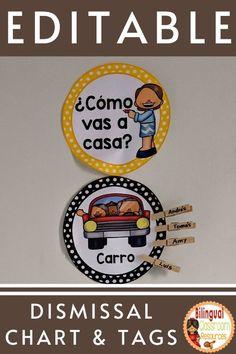 Classroom Charts, Bilingual Classroom, Bilingual Education, Classroom Resources, Teacher Resources, Behavior Management Strategies, Classroom Management, Spanish Teacher, Teaching Spanish