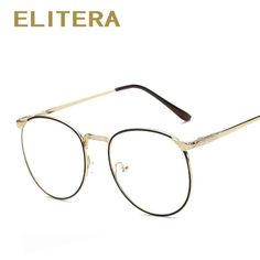 1695a7189d ELITERA New Fashion glasses frame men women vintage myopia eyeglasses frame