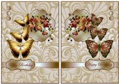 Quick Cards Roses And Butterflies