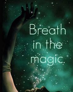 first off, it should read BREATHE ...   secondly:   you dont consume Magic - it consumes You.