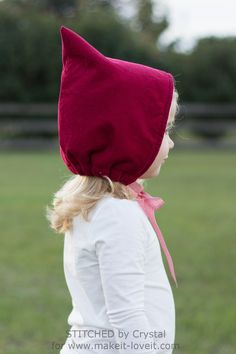 Sew a Pixie Hat/Bonnet for Winter!   Make It and Love It