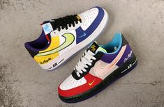 Most Popular Branded cheap Shoes in India - Buy lehenga choli online Air Force 1, Nike Air Force Ones, Nike Shoes Air Force, Custom Sneakers, Custom Shoes, Cool Shoes For Girls, Malaga, Graffiti Shoes, Moda Nike