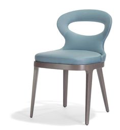 Potocco - Lotus - this chair's sinuous and slightly flippant design perfectly embodies the soul of Potocco, a company that offers simple yet refined products, always in line with current trends. Via Moretti Rosini UK.