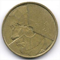 Belgium : 5 Francs 1986 Dutch Legend - Filled lower half of B Veiling in de België,Europa (niet of voor €),Munten,Munten & Banknota's Categorie op eBid België