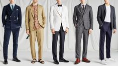 Five Men's Wedding Outfits For Spring 2018