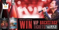 Get VIP backstage access with Train this summer, plus hundreds of chances to win other exciting prizes.
