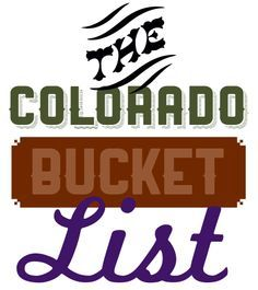 5280's Colorado Bucket List. As a kid, I sort of always thought I'd end up in Colorado. Guess I'll just have to visit more often...