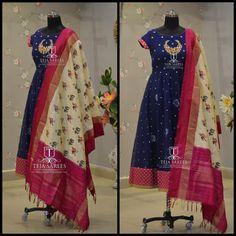 Kurti Neck Designs, Blouse Designs, Indian Dresses, Indian Outfits, Ikkat Dresses, Indian Designer Suits, Anarkali Dress, Anarkali Suits, Indian Attire