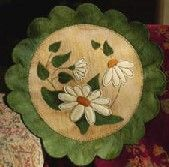 Daisy Circle Wool Applique Kit