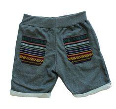 Aztec bohemian Men Yoga Sweatshort Pant Drawstring by Trendbeach