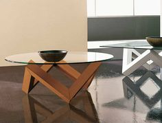 Round coffee table for living room ZEN