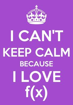 I CAN'T KEEP CALM BECAUSE I LOVE F(X)!!!
