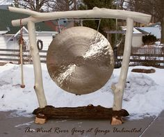 The Wind River Gong; a one of a kind beautiful gong from Gongs Unlimited