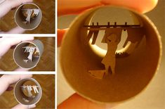 Magical Worlds Inside Toilet Paper Rolls