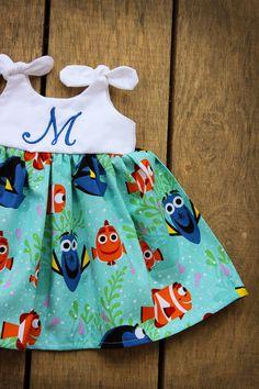 Dory Nemo dress Girls Dress Disney inspired by ShelbyJaneandCo