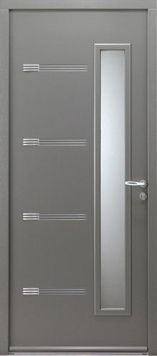Porte Du0027entrée Aluminium Contemporaine Petit Vitrage | Lieux à Visiter |  Pinterest | Doors