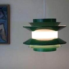 FINLAND GREEN SHADES LAMP