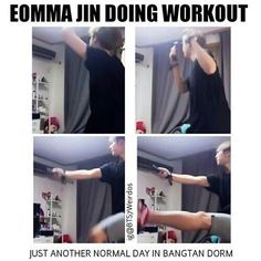 thats how i workout XD XD #ad