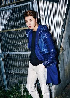 Park Seo Joon - Elle Magazine June Issue '15