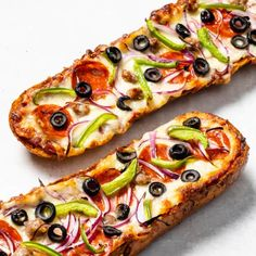 Supreme French Bread Pizza | Cook's Country
